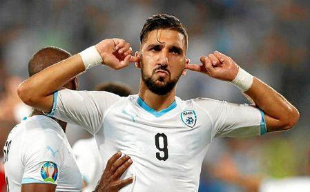 Dabbur vio portería con Israel, que no se clasifica para la Euro 2020.