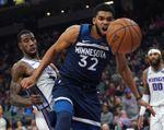 102-112. Towns impone su inspiración y Timberwolves sorprenden a Jazz