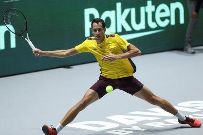 Colombia cayó ante Bélgica, pero lo tuvo en la raqueta de Daniel Galán