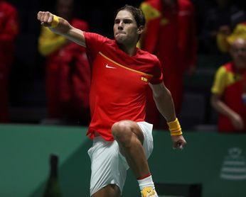 """Nadal: """"Esta Copa Davis es apasionante pero hay una presión muy grande"""""""