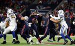 20-17.Watson y Texans vuelven al liderato División Sur tras imponerse a Colts