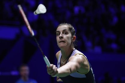 Carolina Marín gana la final en la India contra la tailandesa Chaiwan