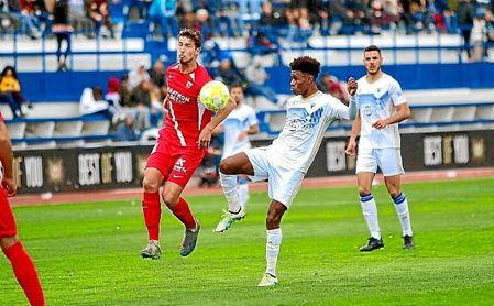El Sevilla Atlético reaccionó en la segunda parte pero no llegó el empate.