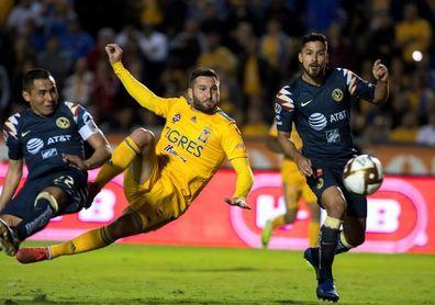 2-4. América vence al campeón Tigres y accede a la semifinal del Apertura