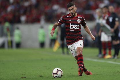 Un Flamengo imparable vence a Palmeiras con tantos de 'Gabigol' y Arrascaeta