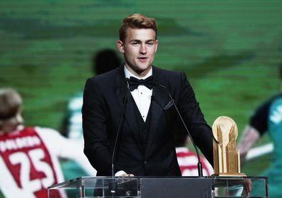 De Ligt consigue el trofeo Kopa al mejor jugador joven