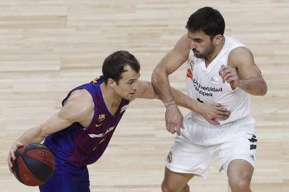 El Barça evaluará la lesión Pangos ?semana a semana?, tras más de dos meses de baja