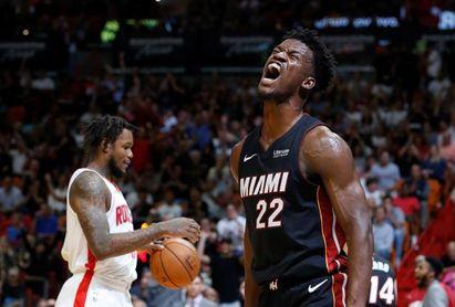 110-121. Butler logra triple-doble y los Heat ganan en casa de los Raptors