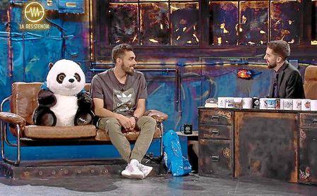 Borja Iglesias es amigo de 'La Resistencia', el popular programa de David Broncano.