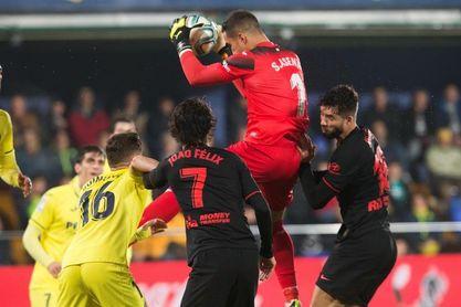 0-0. Ni Villarreal ni Atlético alivian sus dudas