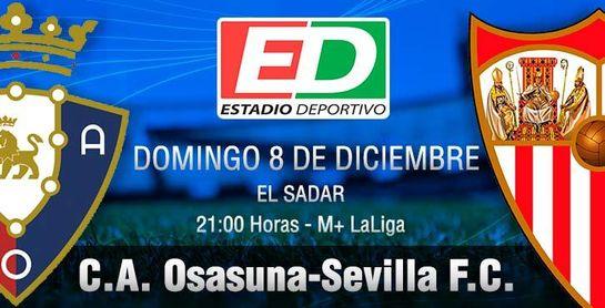 Osasuna-Sevilla F.C.: Dinamita para derribar un fortín