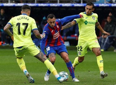 El chileno Orellana (Eibar), tres partidos de suspensión
