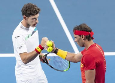 Nadal y Carreño ganan el doble y España accede a semifinales