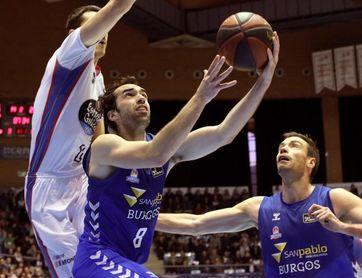 73-76. Burgos apura sus opciones de estar en la Copa venciendo al Obradoiro