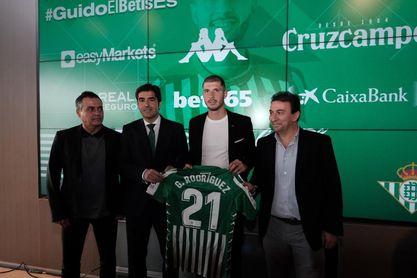 """Guido Rodríguez: """"Quiero hacerme un nombre aquí"""""""