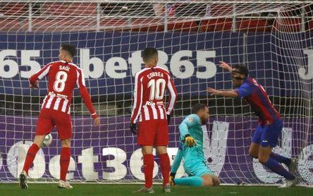 2-0. El Atlético naufraga en Eibar