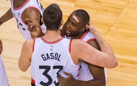 Marc Gasol, Ibaka y Rubio vuelven a disfrutar del triunfo