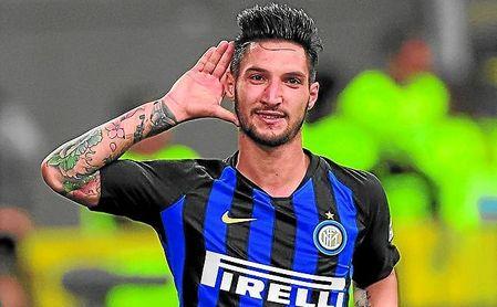Politano, internacional absoluto con Italia, lo tenía hecho ya con la Roma.
