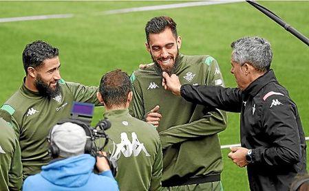 Borja Iglesias, sobre su gol, el partido ante la Real, Europa o su relación con Joaquín