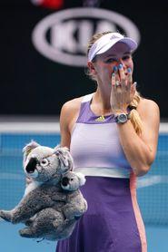 Osaka, Serena y Wozniacki se despiden del Abierto de Australia
