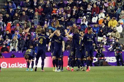 0-1. El Real Madrid se sitúa como líder gracias a un cabezazo de Nacho