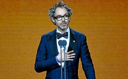 El mediático pianista James Rhodes, durante la gala de los Goya 2020.