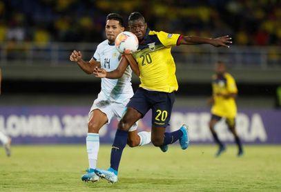 1-0. Sociedad Mac Allister-Gaich da victoria a Argentina y despide a Ecuador