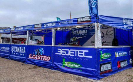 La Escudería Yamaha E.Castro consigue el podio en la primera prueba