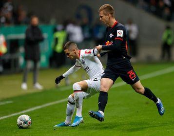 El Eintracht echa al Leipzig de la Copa y pasa a cuartos