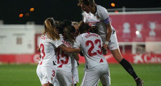 Las hispalenses eliminaron al Levante en octavos (3-0).