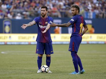 """Messi: """"Ney es uno de los mejores del mundo y me encantaría que volviese"""""""