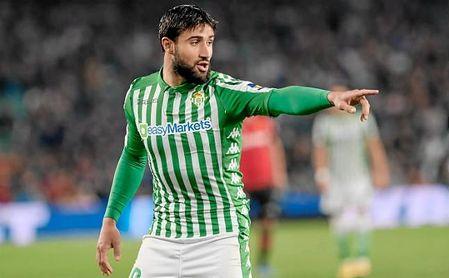 Nabil Fekir, en el partido de Liga contra el Mallorca.