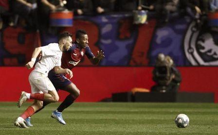 El Sevilla ganó en nueve de las diez últimas visitas de Osasuna