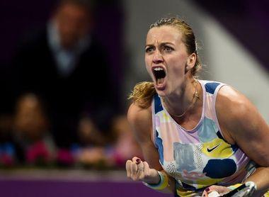 Kvitova y Sabalenka, dos pegadoras en la final de Doha