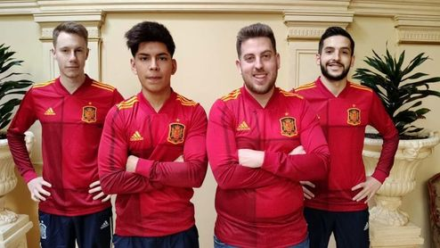 La única selección española en activo... es de eSports