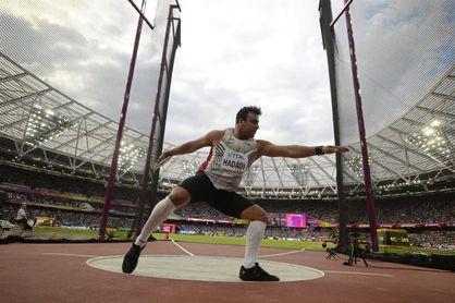 El discóbolo Hadadi, referente del deporte iraní, positivo