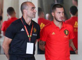 Roberto Martínez tiene ´la sensación positiva´ de un pronto regreso de Hazard