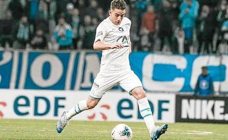 Maxime Lopez, centrocampista pretendido por Monchi para el Sevilla FC.