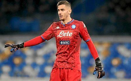 Alex Meret (23) es internacional absoluto con la 'azzurra' y está tasado en 28 millones de euros.