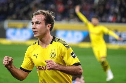El Dortmund no renueva a Götze, que dejará el club este verano