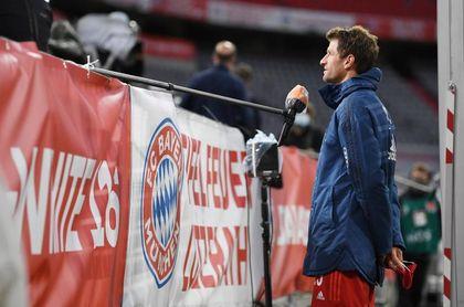 """Müller: """"Claro que me gustaría tener público, pero mi trabajo es jugar al fútbol"""""""