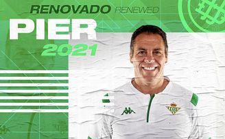El Betis Féminas anunció la ampliación del contrato de Pier.