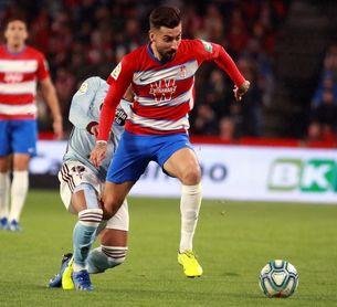 Vadillo y Koybasi bajas del Granada de última hora para jugar ante el Getafe