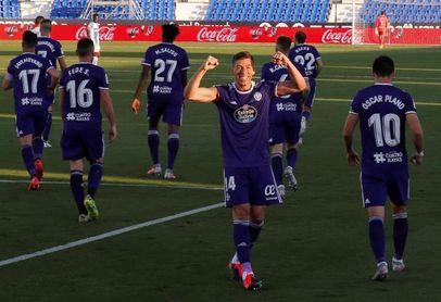 1-2. El Valladolid se impulsa a costa de un Leganés que sigue en problemas