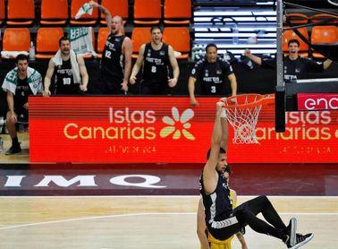 70-78. El Bilbao firma su primera victoria ante un decepcionante Iberostar