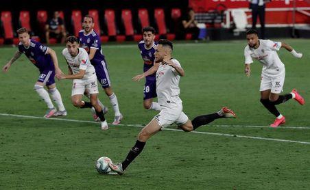 1-1. Empate con sabor a poco para las aspiraciones del Sevilla y Valladolid