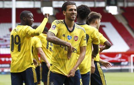 Ceballos mete al Arsenal en semifinales de la FA Cup