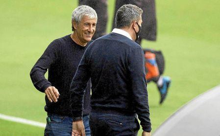 """El 'recadito' de Luis Suárez a Setién: """"Para algo están los entrenadores..."""""""