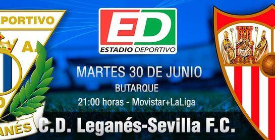 Leganés-Sevilla F.C.: El ritmo de la Champions no permite más tropiezos.