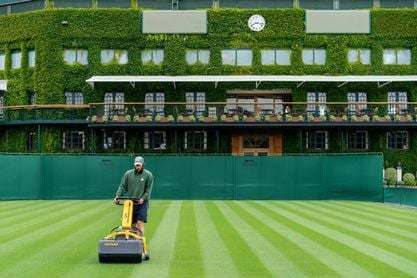 Wimbledon Championships 2020 - View of the grounds at the All England Lawn Tennis Club